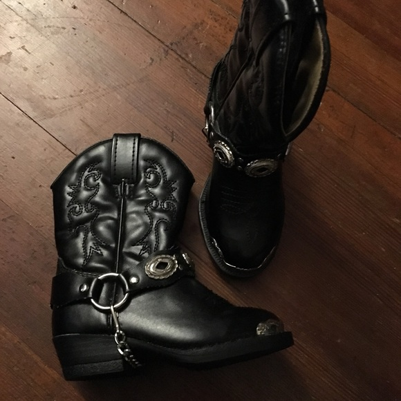 Baby Toddler Dingo Concho Cowboy Western Boots 5